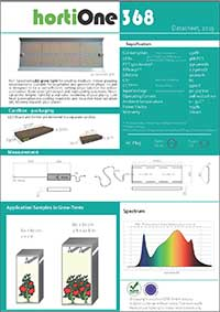 hortiONE368-datasheet